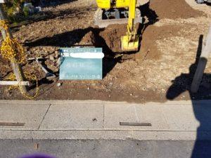 雨水処理施設工事1