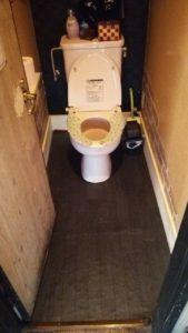 トイレ床修繕7