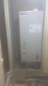 電気温水器交換工事1