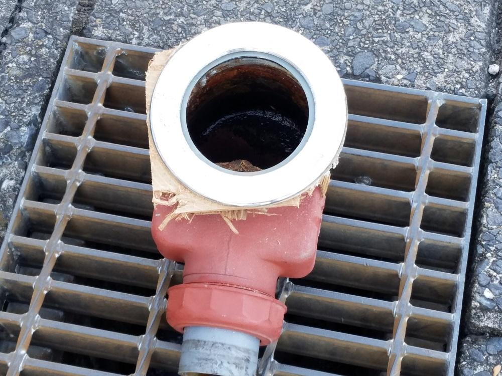 マンション洗濯排水修理B2