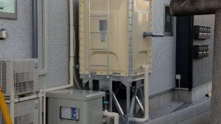 受水槽設置工事