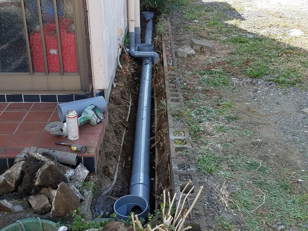 排水管修繕工事B1
